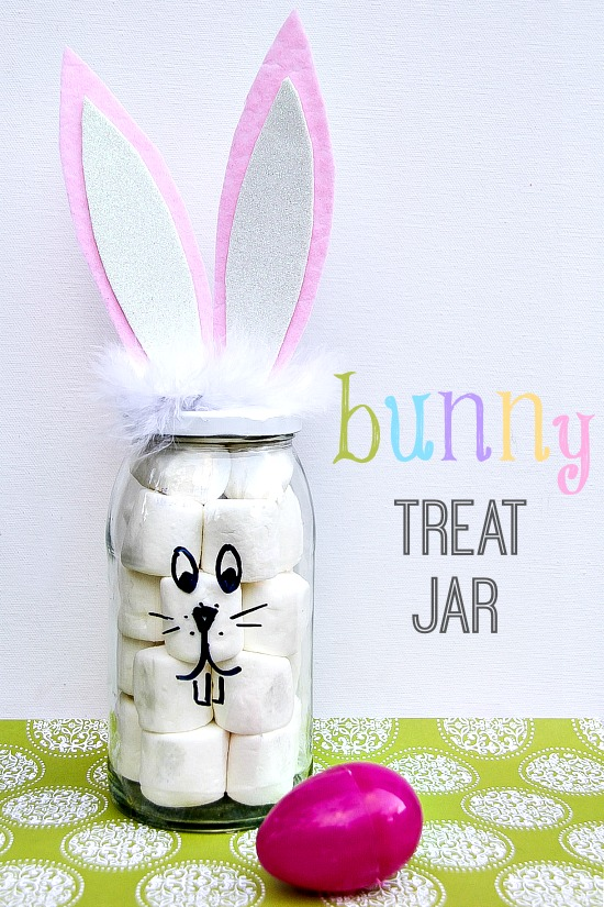 DIY Bunny Treat Jar