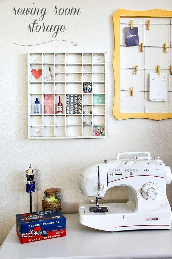 Genial Sewing Room Storage