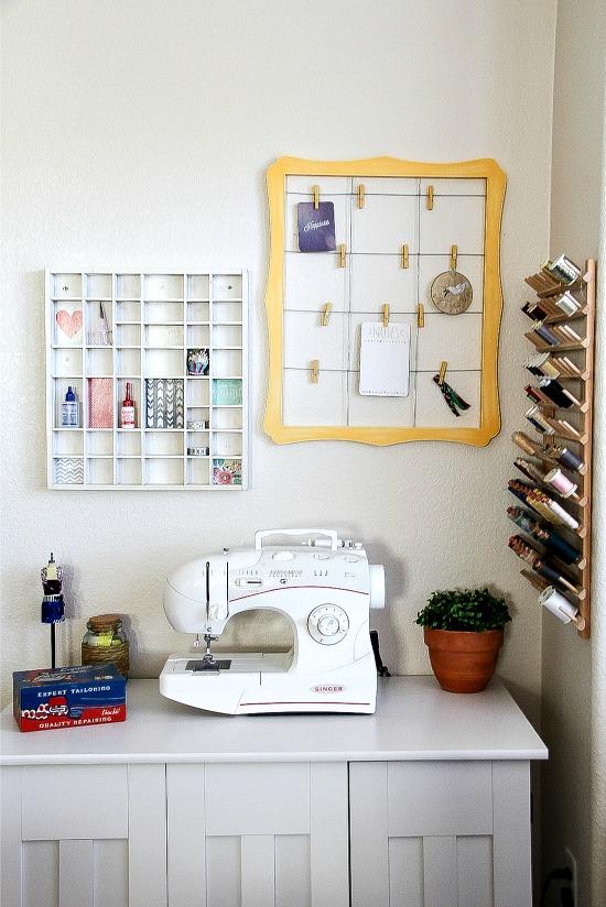 Sewing Room Storage