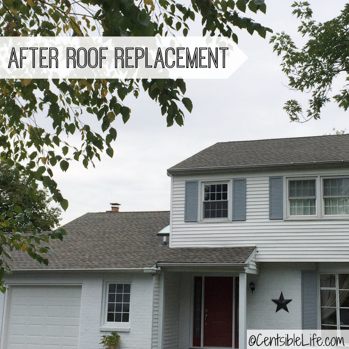 AFTER roof replacement