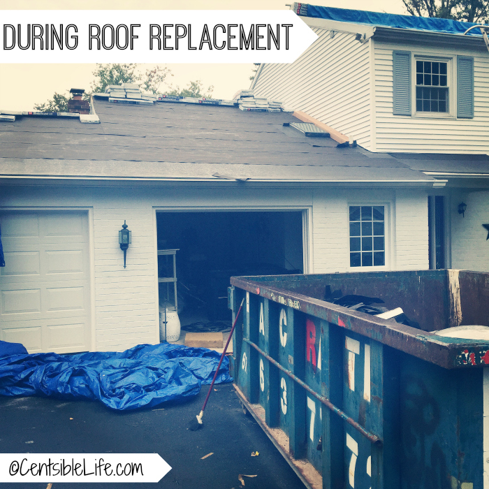 Roof mid-replacment
