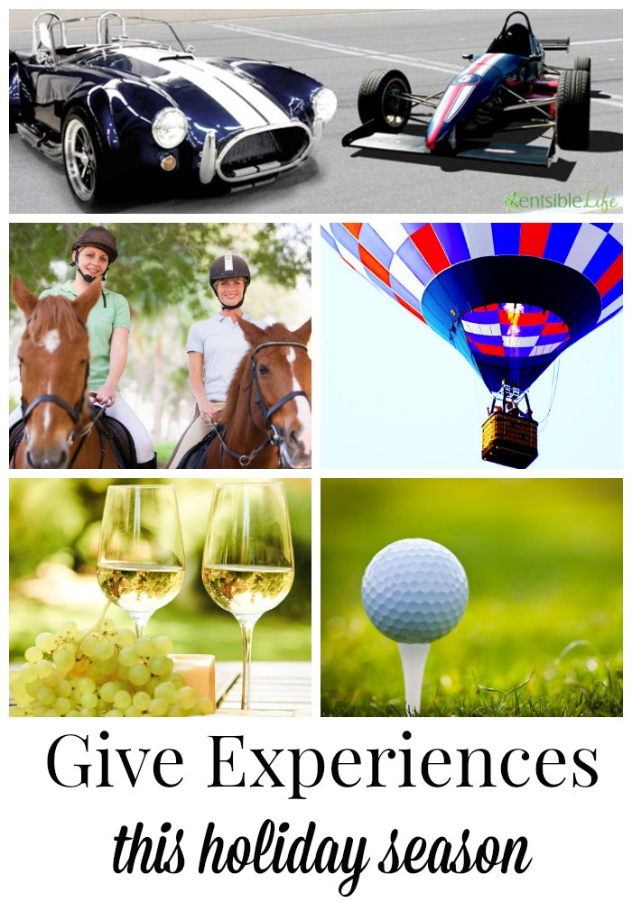 Gift experiences for the holidays