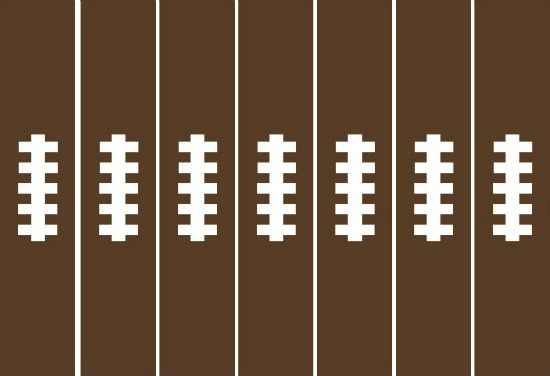 Football_paper_chain - free printable