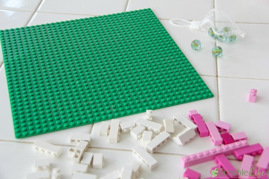 how to make a lego marble maze
