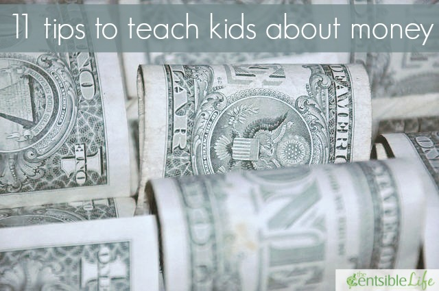 11 tips to teach kids about money