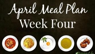 April Menu Plan: Week Four with GIANT