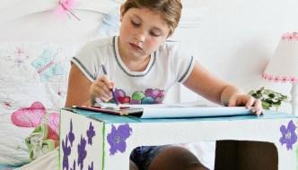 DIY Cardboard Box Lap Tray