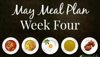 May Meal Plan: Week 4