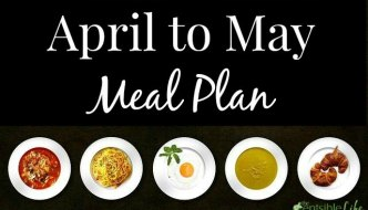 April to May Menu Plan