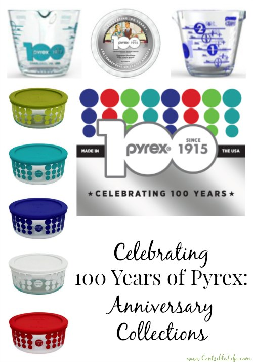 Pyrex Anniversary Collection