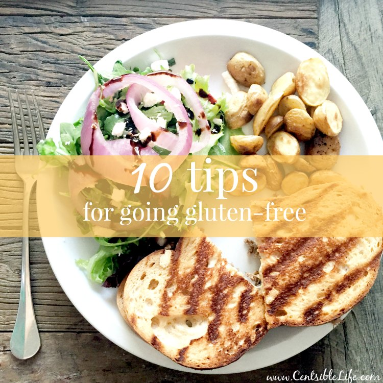 10 Tips For Going Gluten Free
