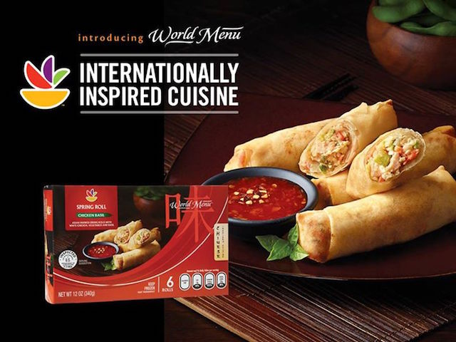 World Menu Chicken Rolls