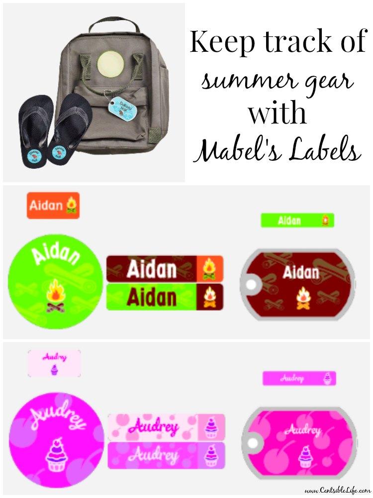 Keep track of summer gear