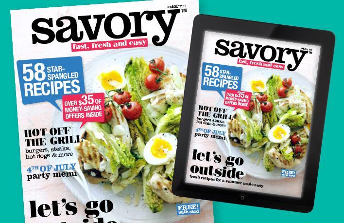 Savory Magazine Summer Issue