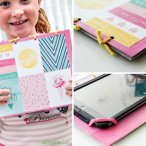 How to make a DIY ipad cover and stand for girls