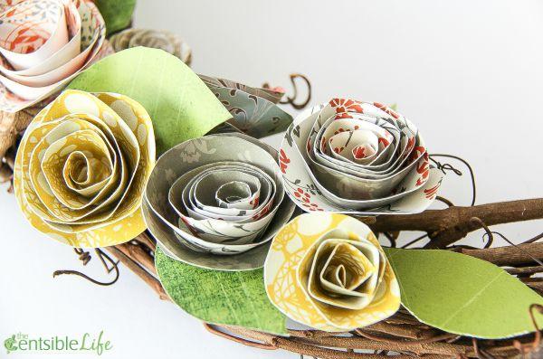 paper flower crafts