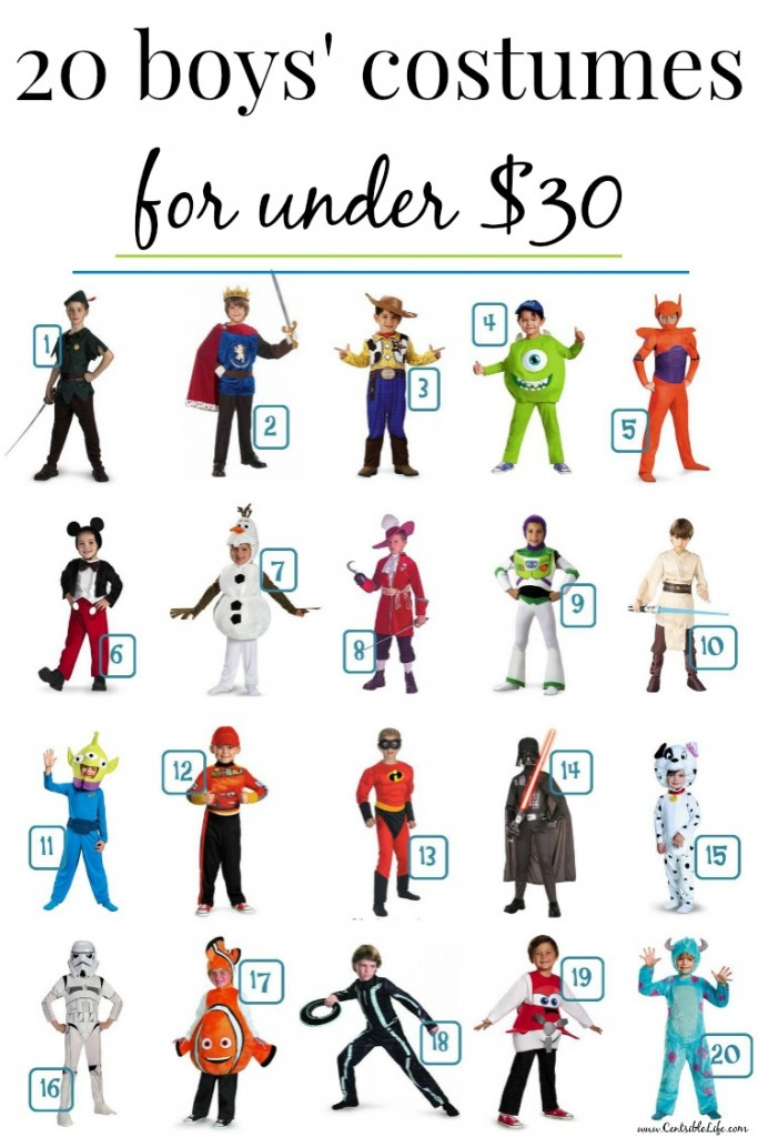 sc 1 st  Centsible Life & 40 Kids Halloween Costumes Under $30