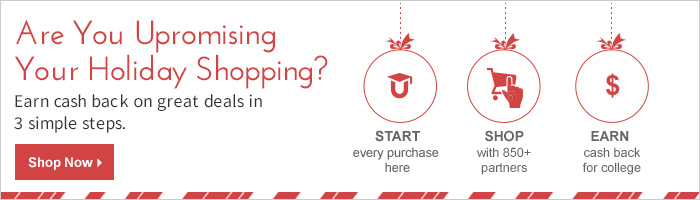 Are you Upromising your holiday shopping?