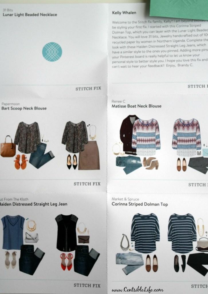 Outfit Suggestions StitchFix