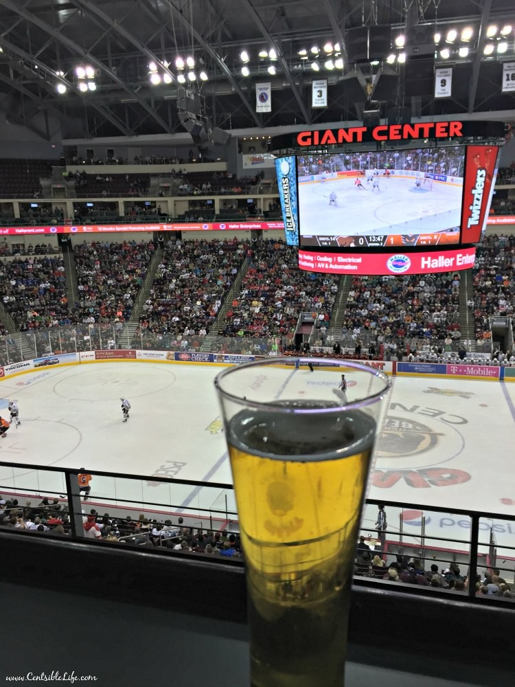 Cider and hockey Hershey Bears