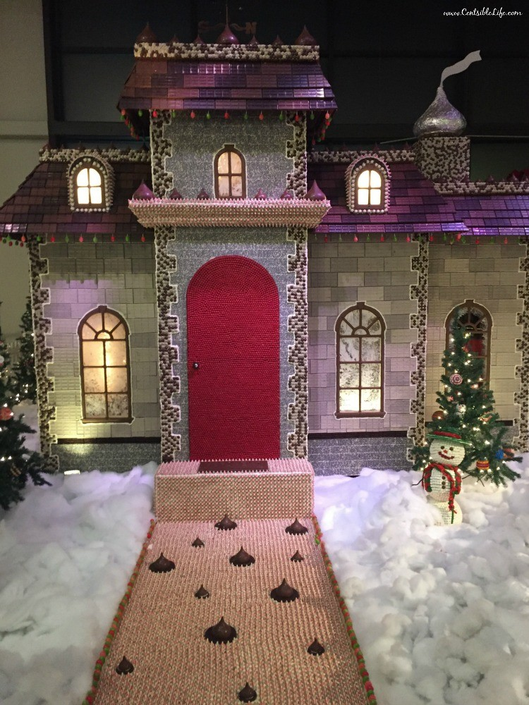 House Made of Candy Chocolate World