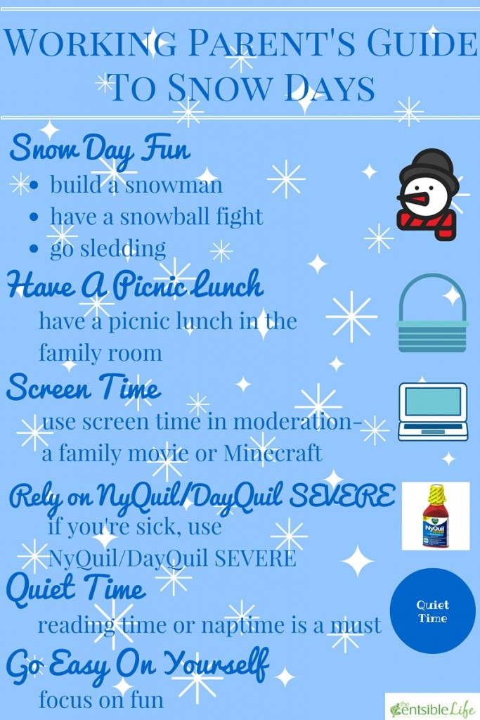 Working Parent's Guide To Snow Day