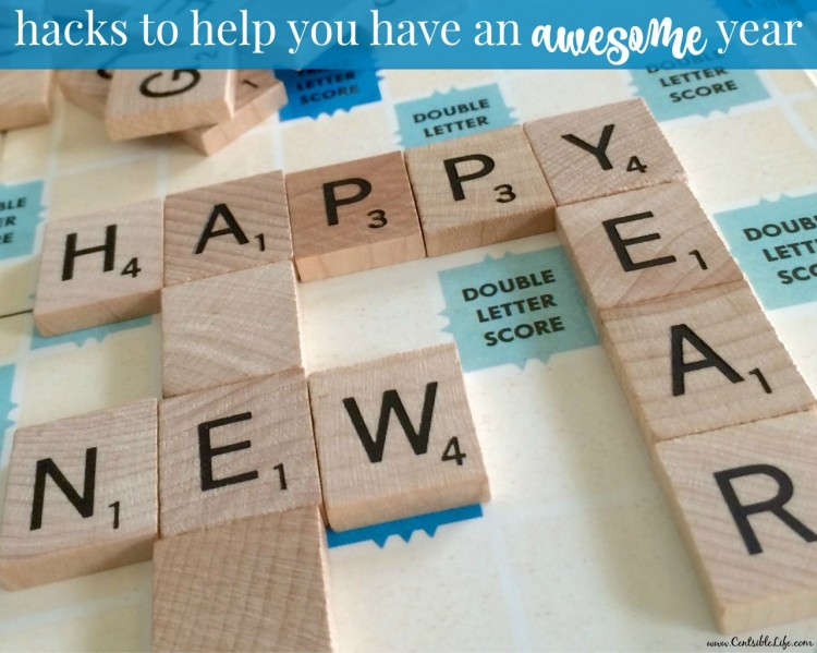 hacks to help you have an awesome year