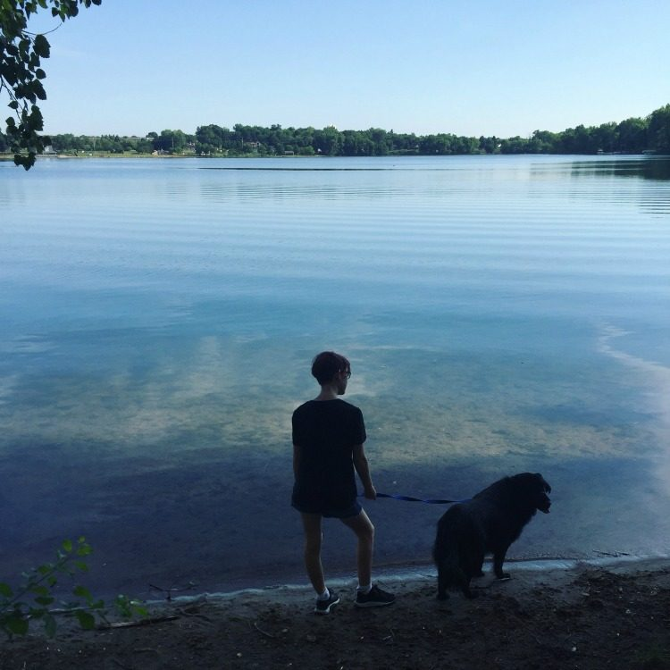 Lake walks
