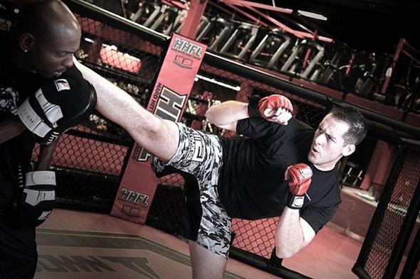 training in martial arts
