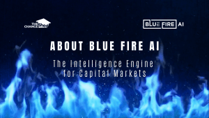 video cover about blue fire AI