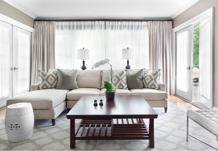 Add Colour To Enhance Your Living Room Decor