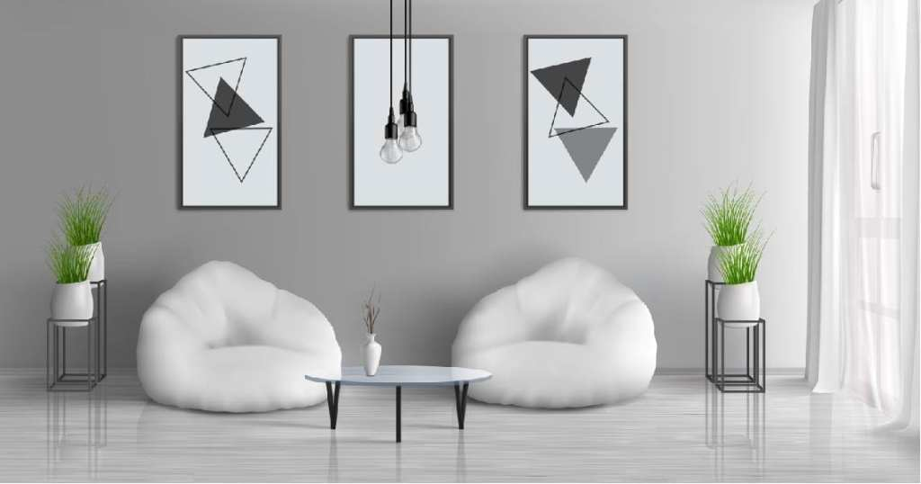 Abstract Paintings To Bring An Eclectic Touch To Room
