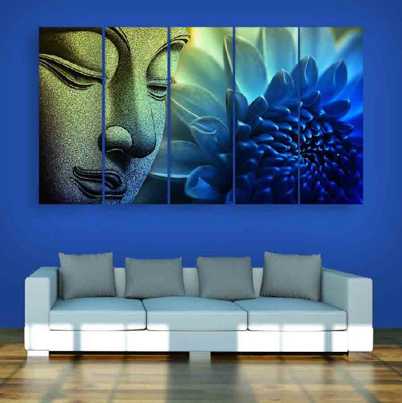 Creative Wall Painting To Enhance Living Room Interiors
