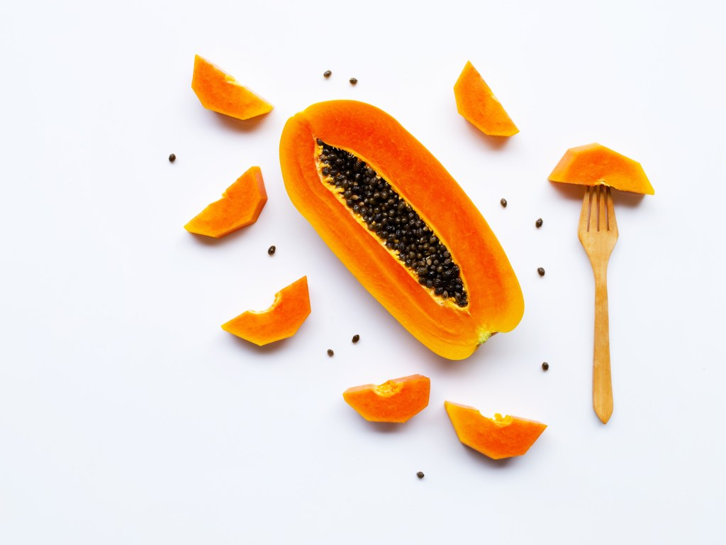 Papaya And Honey For Tanned Hands