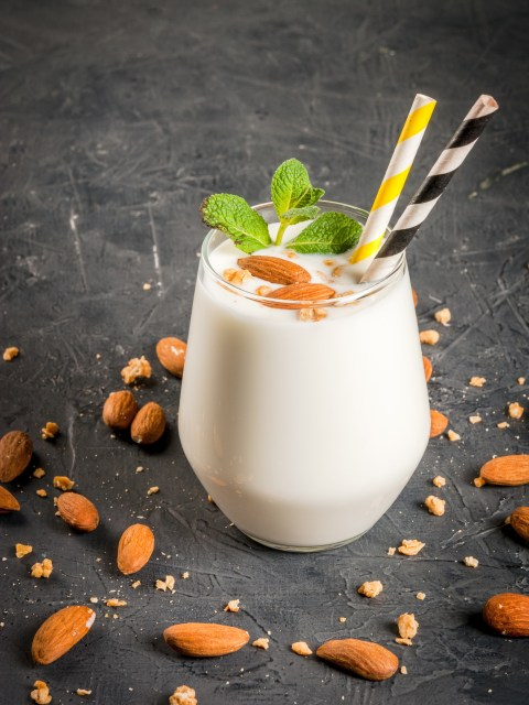 Honey Almond Milk Shake Recipe