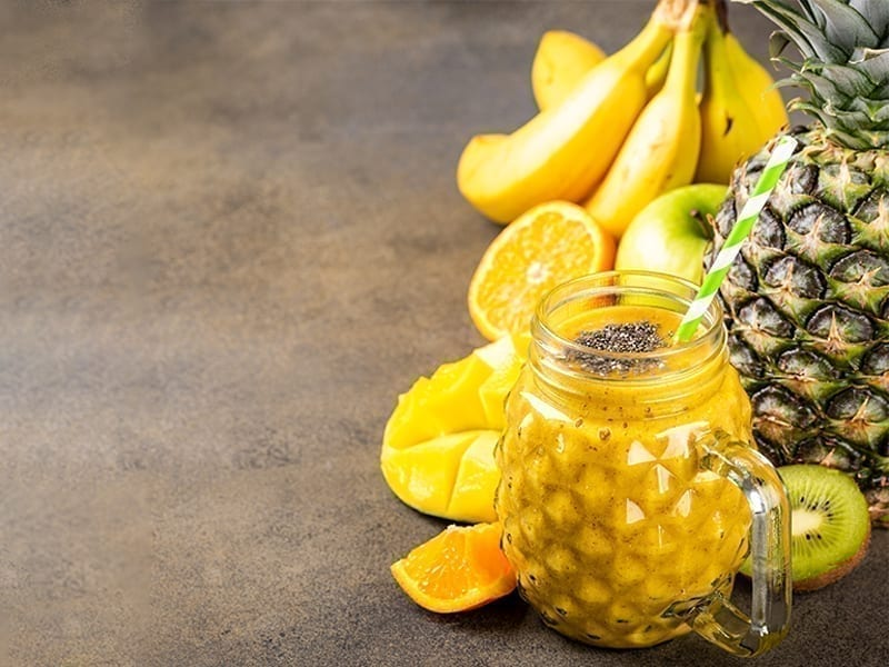 Pineapple Protein Smoothie Recipe