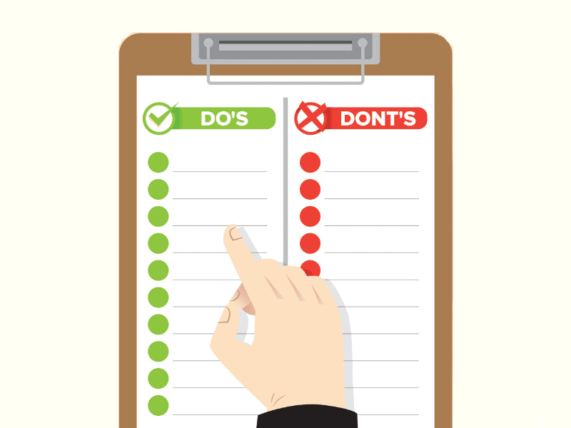 Do's And Don'ts While Writing Resume