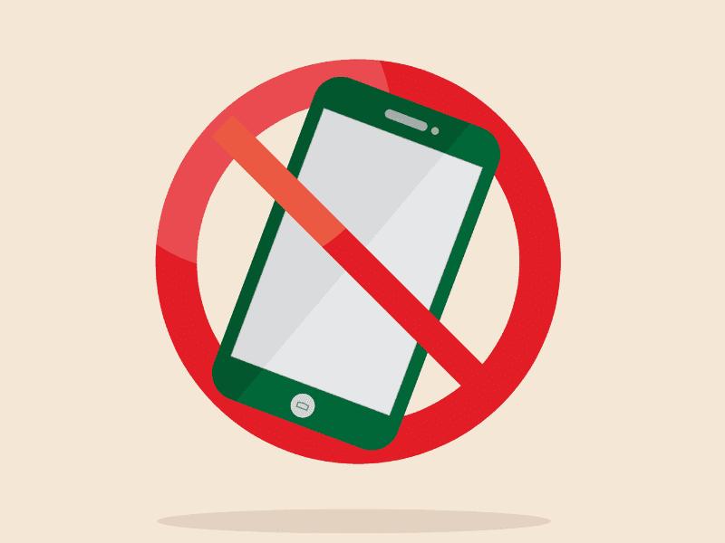 Avoid Phone On The Table