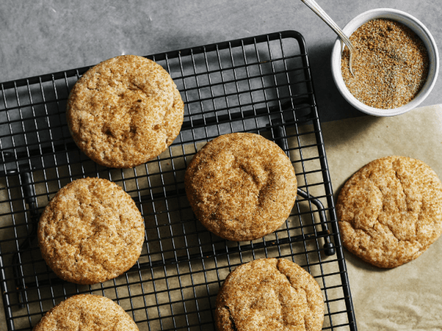 Snickerdoodles For Potluck Lunch