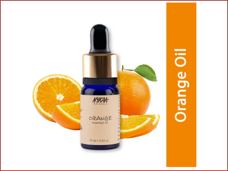 Nykaa Naturals Orange Essential Oil For Sun Tan Removal