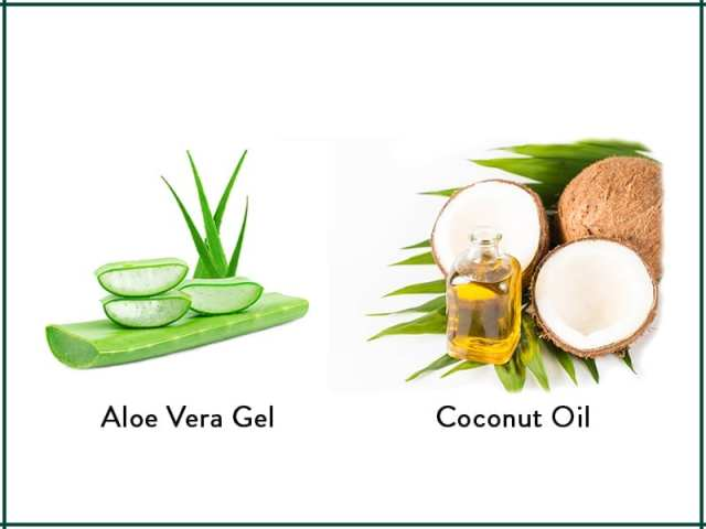 Aloe Vera And Coconut Oil Hair Mask For Thicker Hair