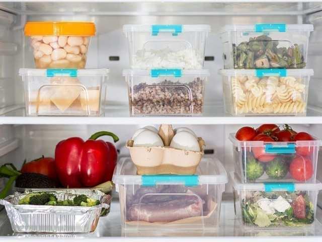 Arrange The Food Items Properly