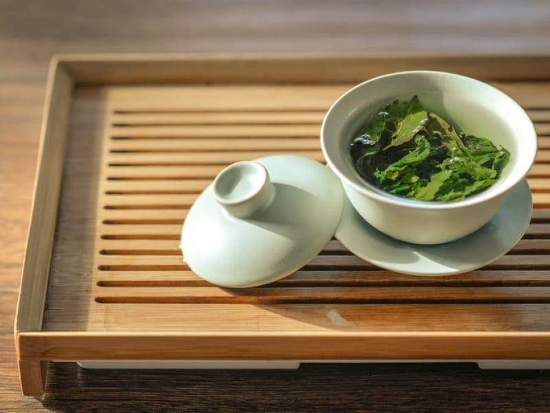 Green Tea For Oily Hair