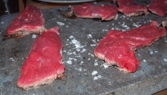 Steak on Stones