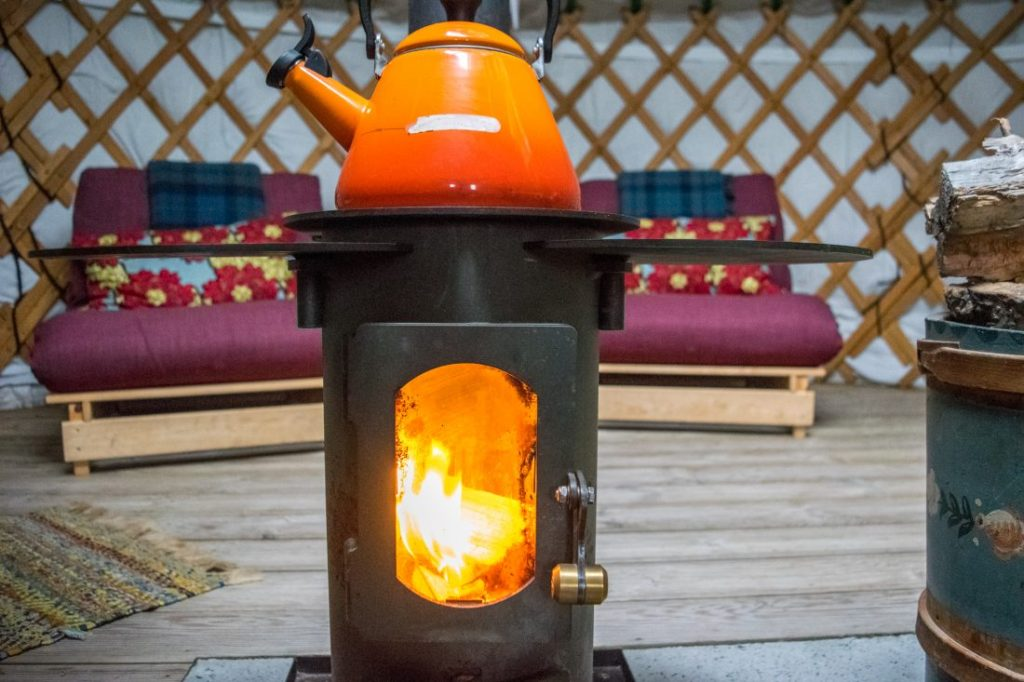 Isle of Gigha - Yurt Experience
