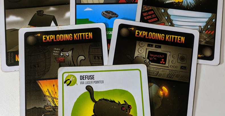 Exploding Kittens: This Place is About to Blow!