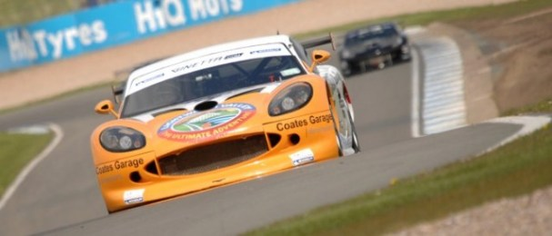 Max Coates won the G50 class of the Ginetta GT Supercup in all three Donington Park Races (Photo Credit: Chris Gurton Photography)