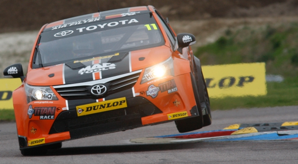 Frank Wrathall will start third, equalling his own career best (Photo Credit: btcc.net)
