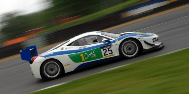 Phillips/Storey Motionsport Ferrari 458 (Photo Credit: Chris Gurton Photography)