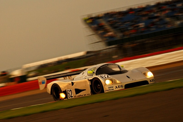 After being moved up to the front row, Evans dominated the race (Photo Credit: Chris Gurton Photography)